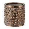 This item: Metallic Bronze Tribal Chic Ceramic Planter