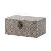 This item: Blue and Brown Decorative Box ,Set of 3