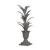 This item: Antiqued Metal Plant Sculpture