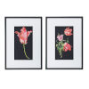 This item: Multicolor Framed Floral Wall Art, Set of 2