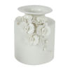 This item: Seaford Gloss White 9-Inch Floral Pot Vase