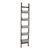 This item: Reed Silver and Brown Reed Ladder Planter