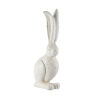 This item: White 8-Inch Rabbit Figurine