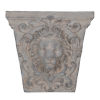 This item: Gray 22-Inch Lions Head Outdoor Wall Decor