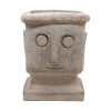 This item: Gray Stone Tribe Outdoor Plant Pot