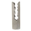 This item: Gray Cylindrical Outdoor Planter