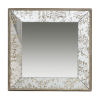 This item: Gold Square Wall Mirror
