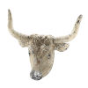 This item: Antique White And Black Ox Head Wall Décor