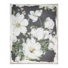 This item: Magnolia Blooms White And Gray Wall Art