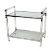 This item: Soho Clear Bar Cart