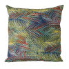 This item: Multicolor Abstract Leaf Design Accent Pillow