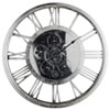 This item: Hereford Silver Transitional Round Wall Clock