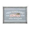 This item: Gray Flower Market Wall Decor