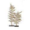 This item: Bellamy Gold Fern Statuaries, Set of 2