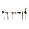 This item: Multicolor Veggie Shaped Garden Stakes, Set of 6