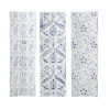This item: Largosa White and Blue Wall Décor, Set of 3