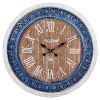 This item: Multicolor Town Hall Wall Clock