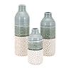This item: Dahlia Vases - Set of 3 in Green