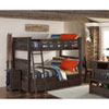 This item: Highlands Espresso Harper Full Bunk Bed with Trundle