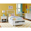 This item: Pulse White Full Rake Sleigh Bed with Storage