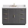 This item: Austen 49-Inch Twilight Gray Vanity Combo