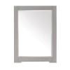 This item: Kelly Grayish Blue 24-Inch Beveled Edge Rectangular Mirror