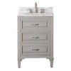 This item: Kelly Grayish Blue 24-Inch Vanity Only