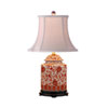 This item: Orange Floral Table Lamp