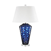 This item: Ebullience Blue One-Light Table Lamp