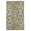 This item: Alejandra Blue and Natural 4 Ft. x 6 Ft. Area Rug