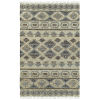 This item: Alejandra Natural and Gray 5 Ft. x 7 Ft. 9 In. Area Rug