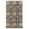 This item: Alejandra Navy and Brown 5 Ft. x 7 Ft. 9 In. Area Rug