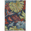 This item: Amalie Navy Fower Rectangular: 7 Ft.2 In.X 10 Ft.5 In. Rug