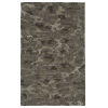 This item: Calvin Black and Gray 5 Ft. x 7 Ft. 9 In. Area Rug