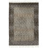 This item: Duna Brown and Gray 2 Ft. 6 In. x 7 Ft. 6 In. Runner Rug