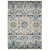 This item: Eddison Blue and Gold 7 Ft.10 In. x 10 Ft. Area Rug