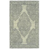 This item: Effete Ivory, Black and Gray 5 Ft. 6 In. x 8 Ft. 6 In. Area Rug