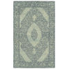 This item: Effete Navy and Ivory 5 Ft. 6 In. x 8 Ft. 6 In. Area Rug