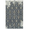 This item: Elijah Navy, Silver and White 5 Ft. x 7 Ft. 9 In. Area Rug