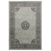 This item: Easton Silver and Gray 2 Ft. x 3 Ft. Throw Rug