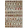 This item: Kayden Gold and Red 8 Ft. x 10 Ft. Area Rug