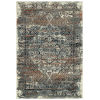 This item: Memphis Blue and Orange 7 Ft.10 In. X 10 Ft. Area Rug