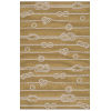 This item: Puerto Yellow Wave Rectangular: 5 Ft. x 7 Ft.6 In. Rug