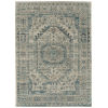 This item: Zuma Beach Turquoise Gray Rectangular: 5 Ft.3 In. x 7 Ft.3 In. Rug