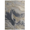 This item: Global Altitude Blue and Beige 3 Ft. 11 In. x 5 Ft. 3 In. Area Rug