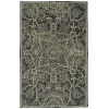 This item: Knotted Earth Charcoal and Ivory 5 Ft. 6 In. x 8 Ft. 6 In. Area Rug