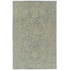 This item: Knotted Earth Light Blue and Ivory 4 Ft. x 6 Ft. Area Rug