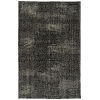 This item: Knotted Earth Black and Ivory 4 Ft. x 6 Ft. Area Rug
