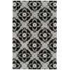 This item: Peranakan Tile Black and Silver 8 Ft. x 10 Ft. 6 In. Indoor/Outdoor Rug