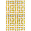 This item: Peranakan Tile Yellow and Gray 8 Ft. x 10 Ft. 6 In. Indoor/Outdoor Rug
